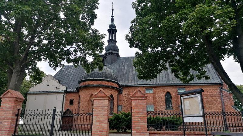 Miechocin - Kościół gotycki XV wieczny Tarnobrzeg